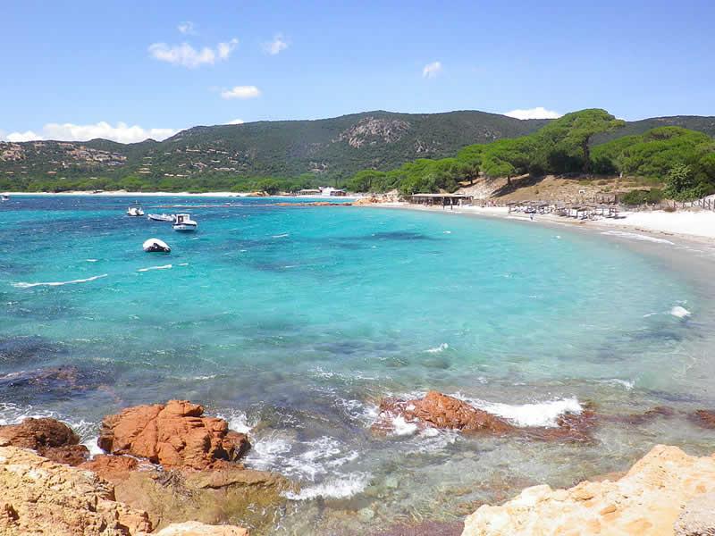 France - Corse - Plage de Palombaggia