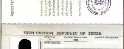 passeport indien